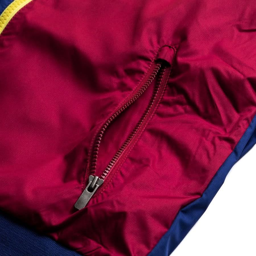 Barcelona Windrunner Woven Authentic - Deep Royal Blue/Red/Yellow Kids