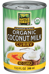 Native Forest Unsweetened Organic Coconut Milk Curry - 13.5 fl oz