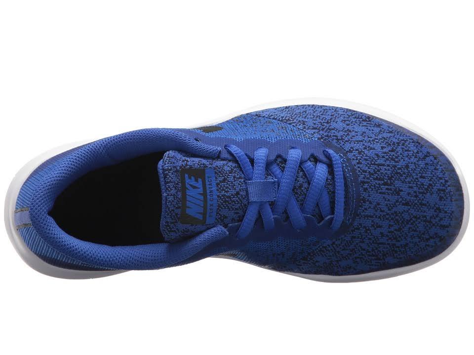 Contact Negras Blancas Boys Flex Nike Zapatillas 1Rpf7