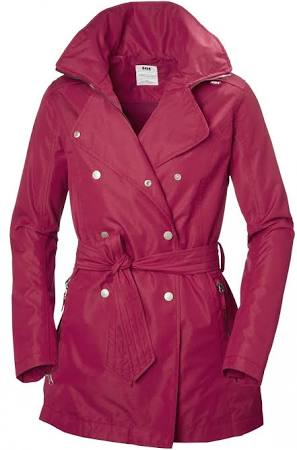 Trench Helly Welsey Mujer Persa Regular 183 Rojo 62383 Hansen Pequeño s tqqawUPc