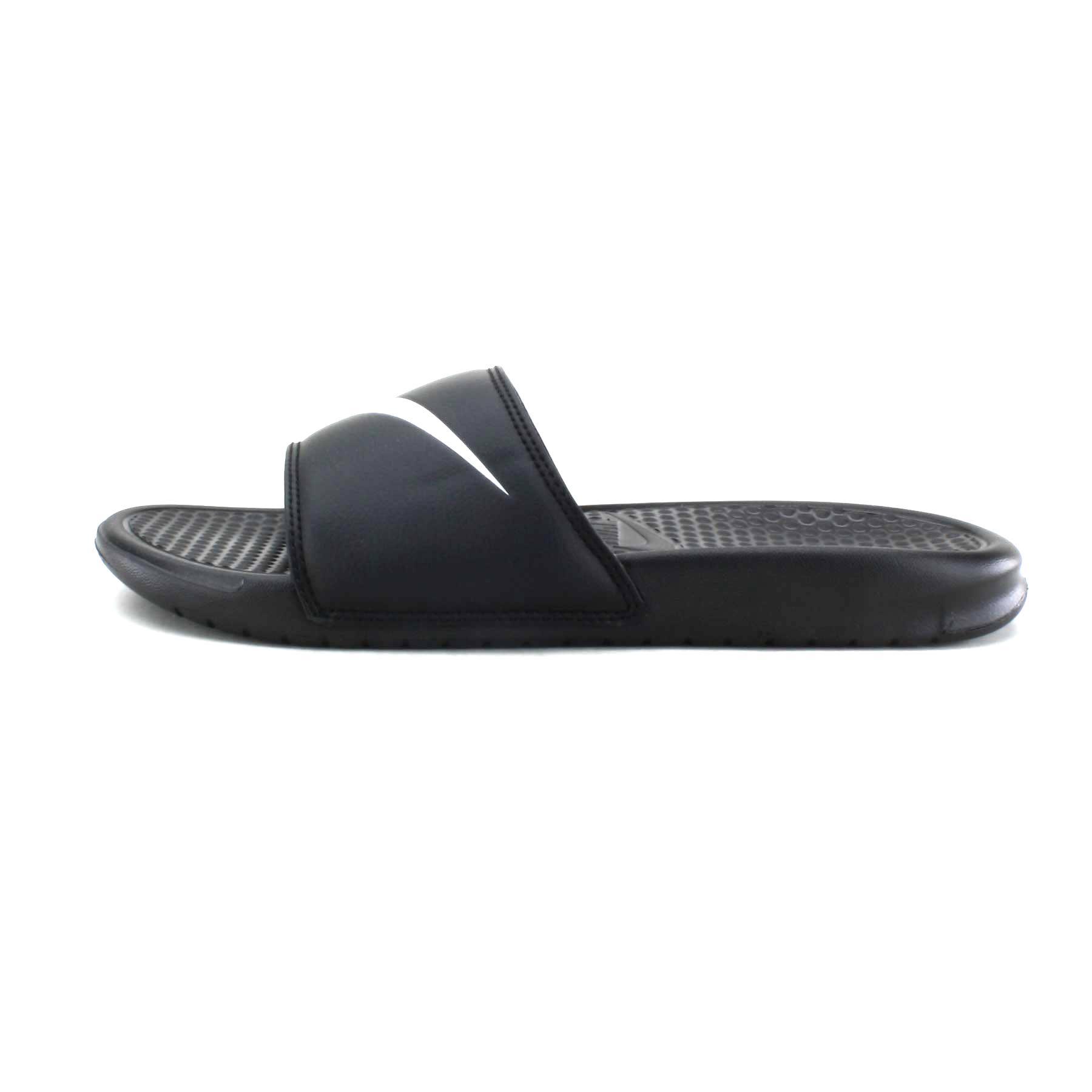 Nike Negro Us 011 12 Benassi Blanco Envío Sz Gratis 312618 Swoosh rxUrPYI