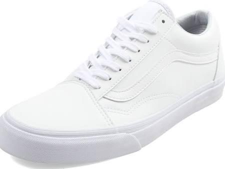 True 10 Herrenschuhe Tumble Vn0a38g1odj klassischer Skool 5 White Old Vans Größe UqwFOBUx