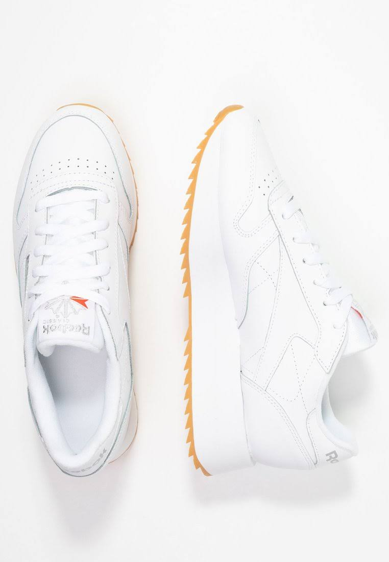 Leather Classic Reebok Wit Wit Leather Leather Classic Classic Double Reebok Reebok Double 0PknwO
