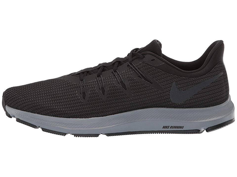 Schwarz Medium 8 Quest Nike Männer Laufschuhe Anthrazit D z7tRq