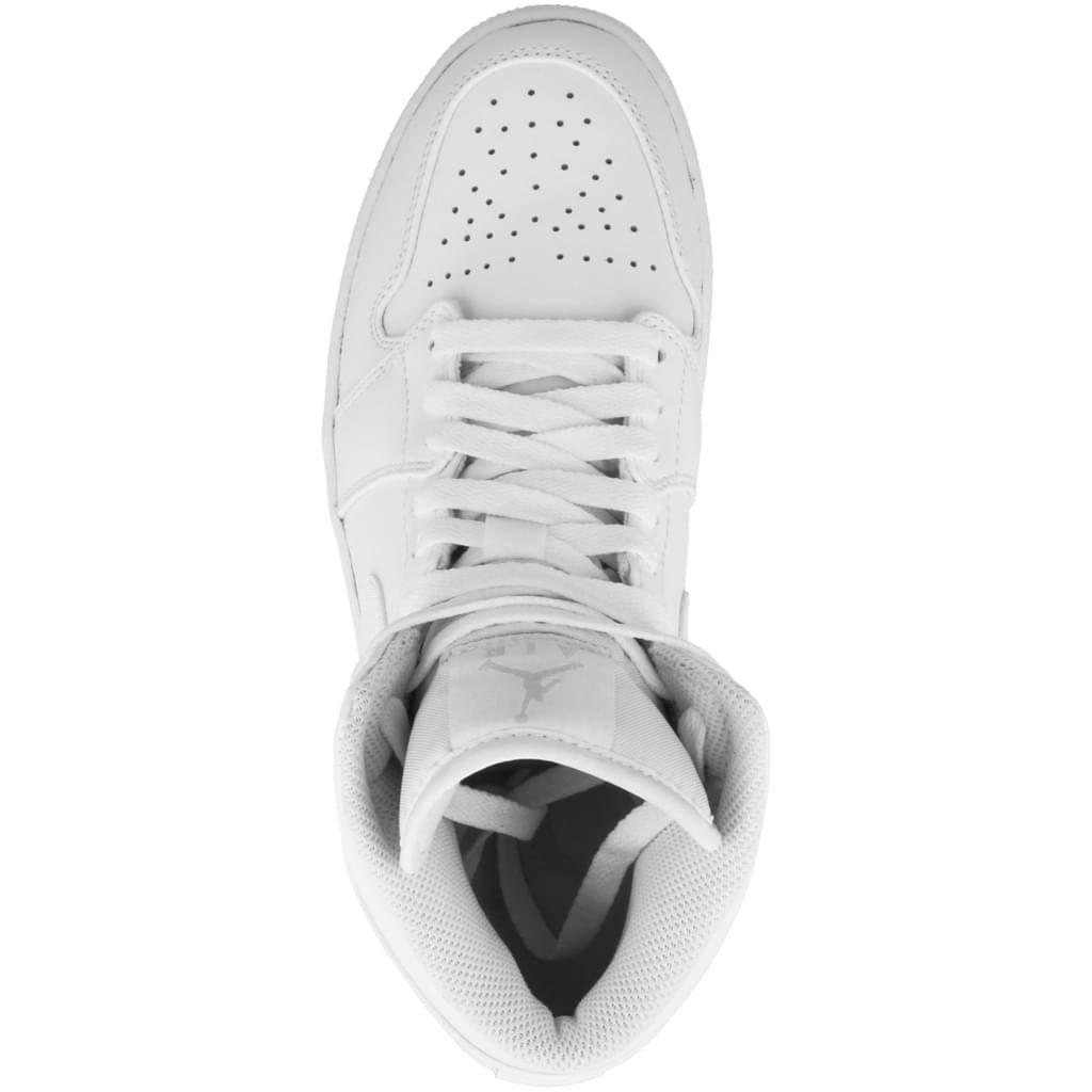 Mid Platinum Weisspure White 554724 white Elfenbein Weiss 1 Plantinum pure 104 Jordan Air EZwqRgxBTx