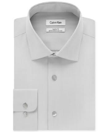 Sólida Grande Y Hombres De Alta Klein Calvin Camisa Vestir Para wAqUInYO