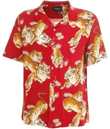 Corta Tigre Con Estampado De Camisa Manga Kooples wqzAExU