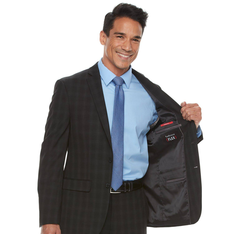 Chaqueta Flex Slim 46 Años Heusen Fit Van Hombre Para Traje Azul De rxwCYqErU