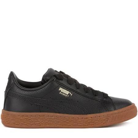 Con Cordones Puma De Zapatos Cuero Deporte Niña Zapatillas Niño xxOqR8Z