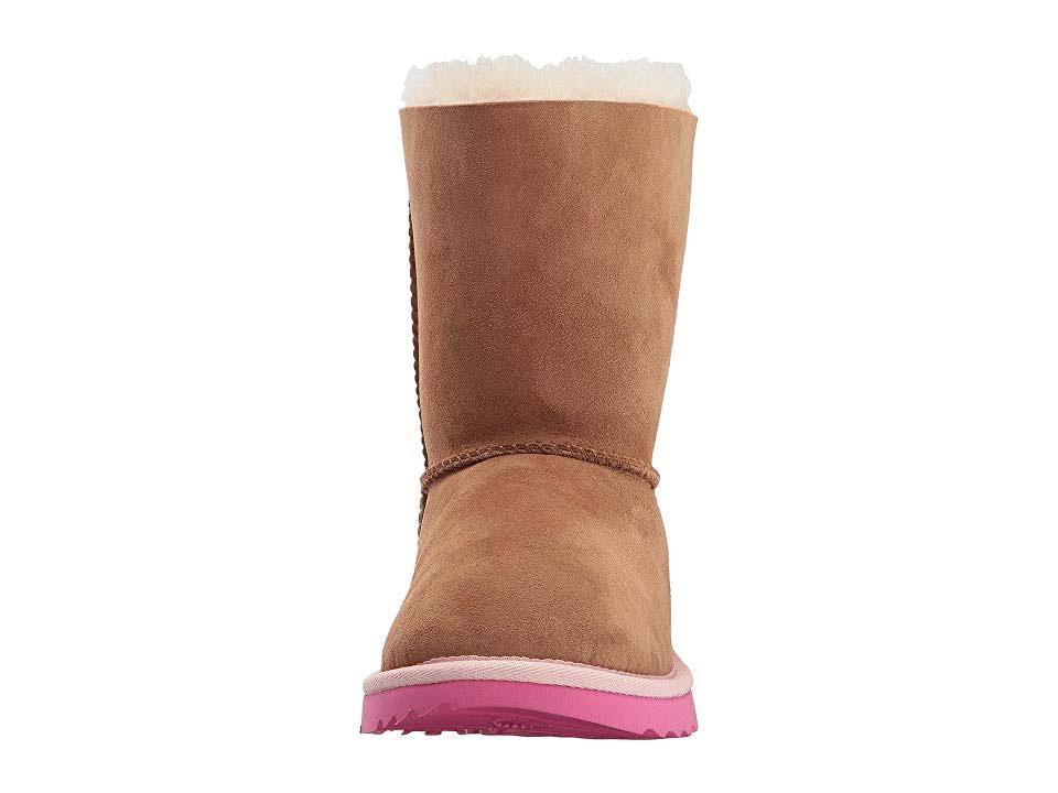 School Bailey Bow Kids chestnut Ii Grade Boots Pink Ugg wgSxfq5Og