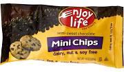 Enjoy Life Semi-Sweet Chocolate, Mini Chips - 10 oz bag