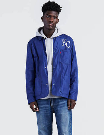 Mlb Kansas City Levi's Coat Herren Club 2xl Royals 16qOHwa