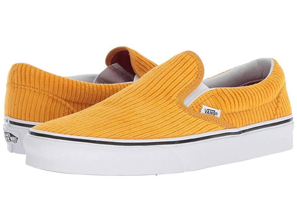 design Athletic Men's 5 Shoes Classic true Sunflower Medium 10 White Women's Vans Slip on Assembly 9 wtqg66xXv