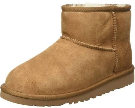 Uk Ankle Child Unisex Brown chestnut Boots Classic Ugg Kids' Mini 13 wFnqvzBI