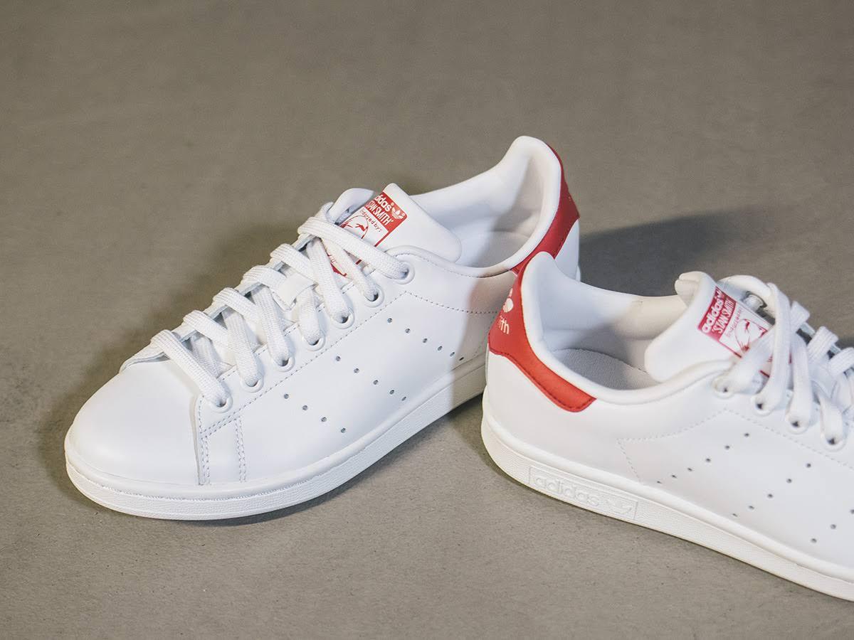 Weiß Stan Rot Smith Runningwhite Collegiatered Adidas Running gv1zqP1w