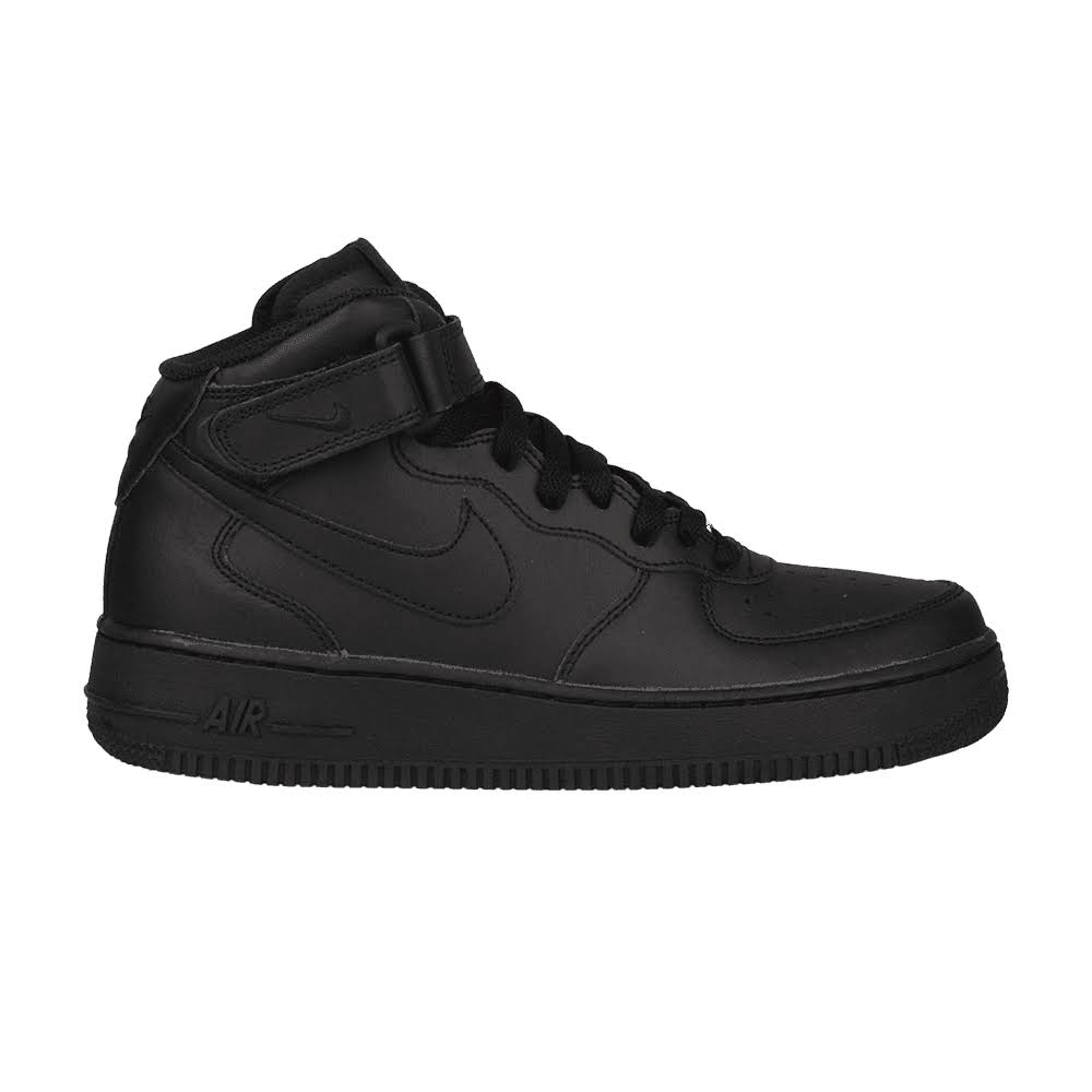 Nike Mid JuniorZwartzwart Air Force Kinderen 1 QdshxrtC