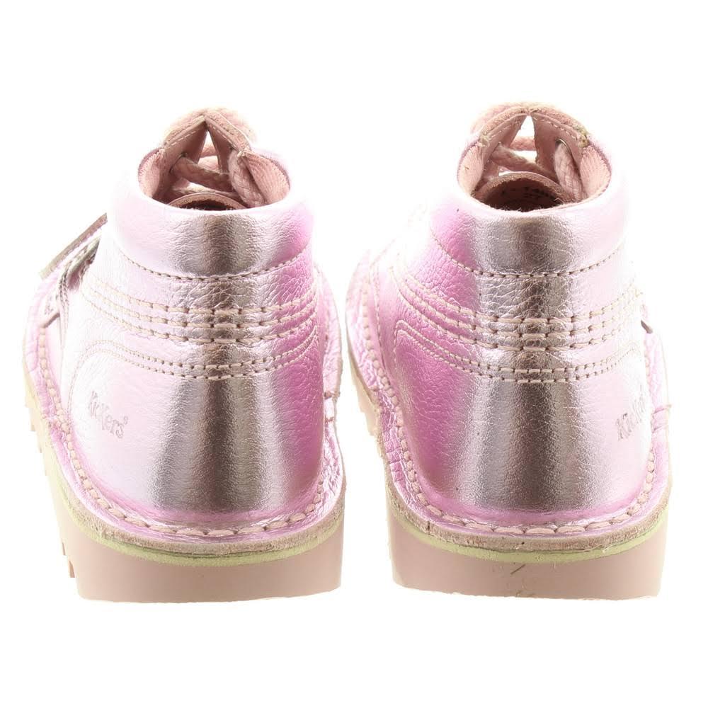 33uk 1Light Metallizzata Pink In Kickers Boots Pelle 8nOkNwPX0