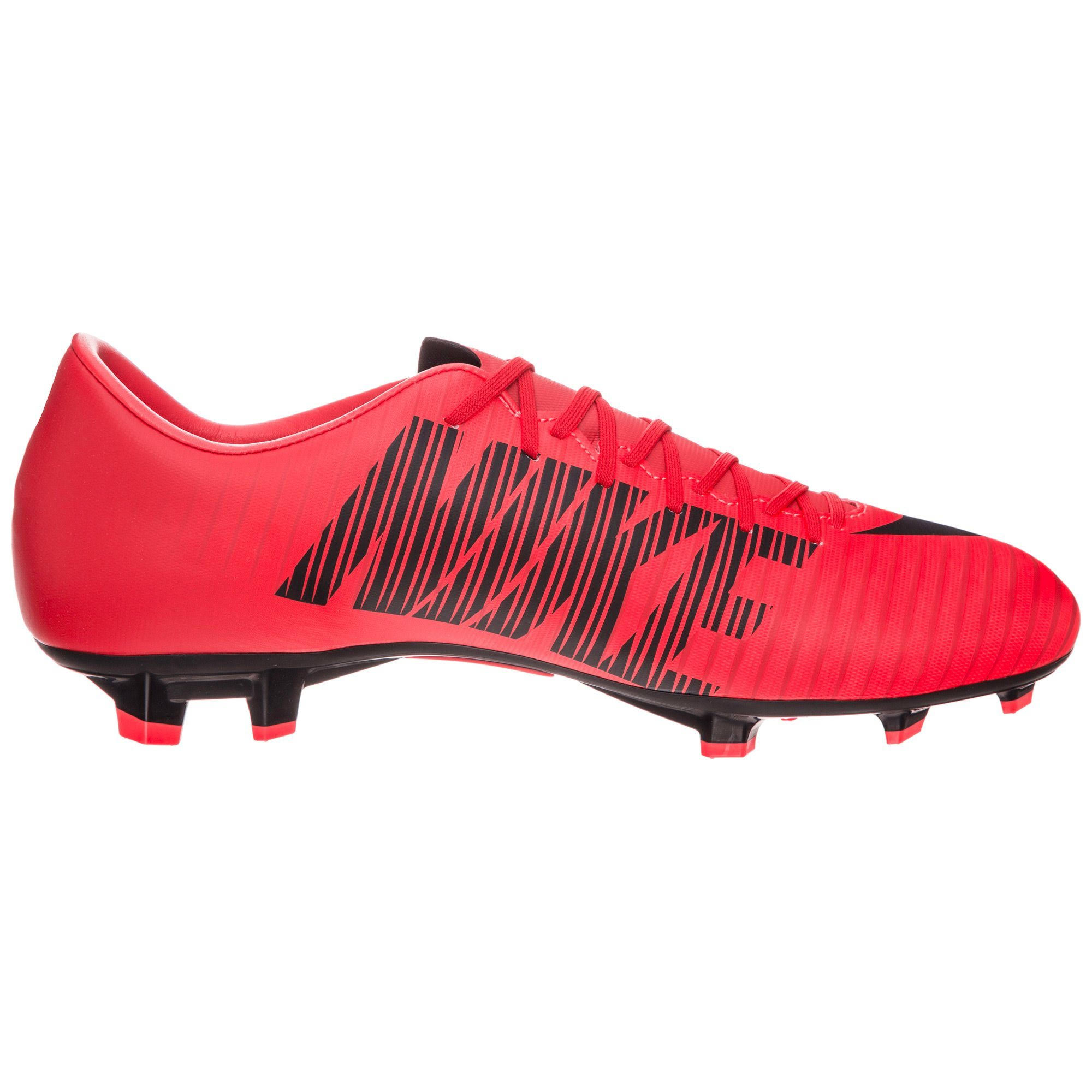 schwarz Vi black Red Crimson bright red Univ Fg Victory Nike Mercurial Fußballschuh University FB0FAU
