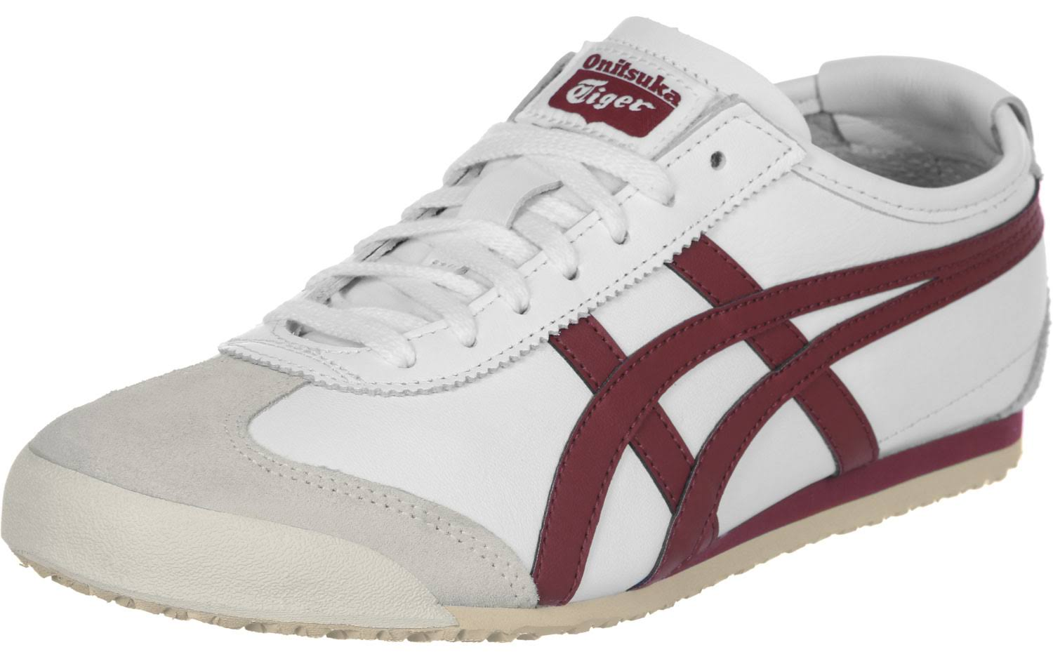 weinrot 66 Onitsuka Weiß Mexico Tiger wxPxIYqUEa