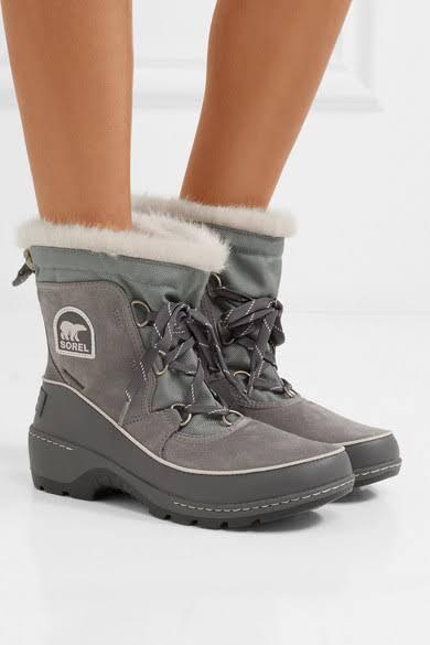 grijs Tivoli Sorel groevewolk Iii voor boots dames Aj53RL4
