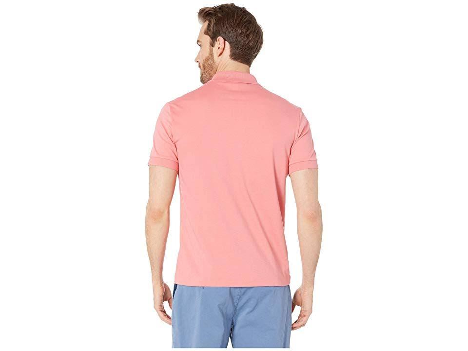Regular Fit Pima Herren Pink Lacoste Interlock Polo Baumwolle z5q7BnA5wx