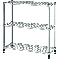 IKEA OMAR Galvanized Shelf unit