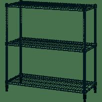 IKEA OMAR Galvanized Shelf unit