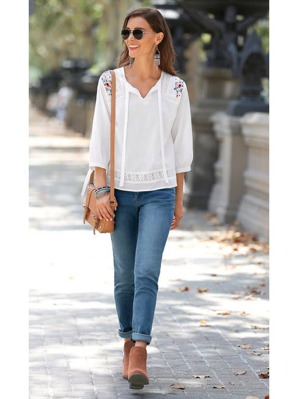 Venca Jeans Jeans Medium Blue Blue wWYIn4qx