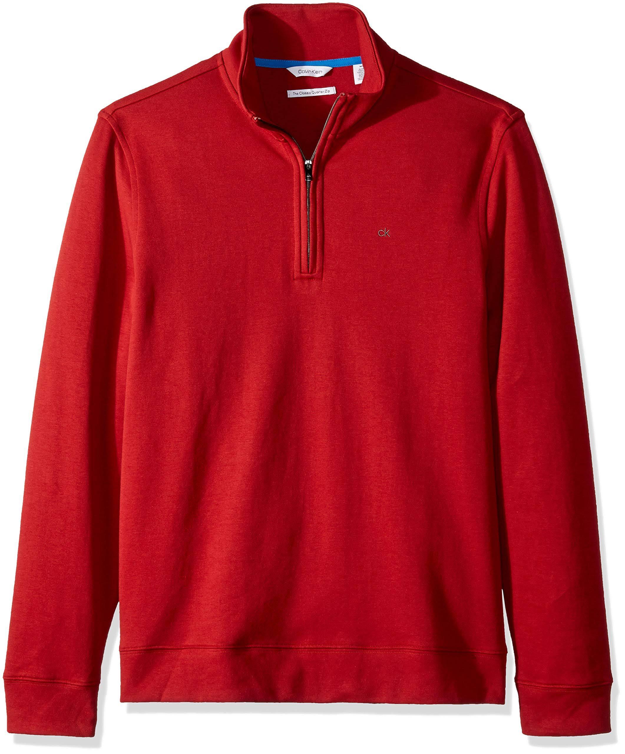 Calvin Quarter Für Klein Sweater Classic Zip Männer wgUwqar