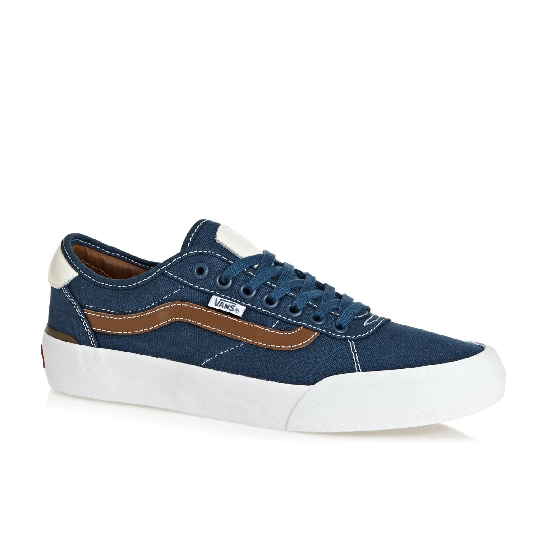 Dark Dachshund Denim Shoes Brown Pro Vans 2 navy Chima 7SYIwqp