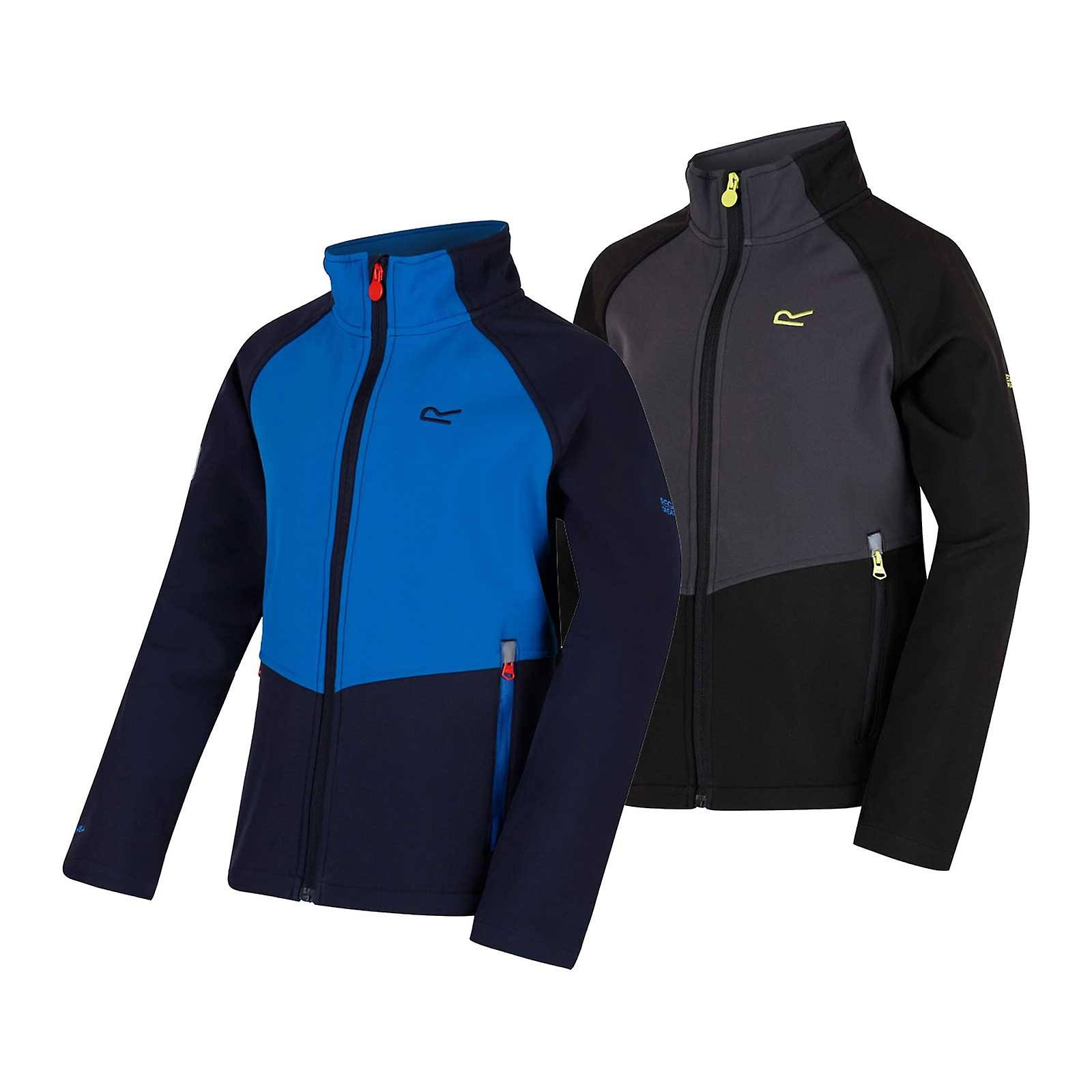 Regatta Varro 3 4 Jacket Boys Softshell Navy Skydive rx85qrBX