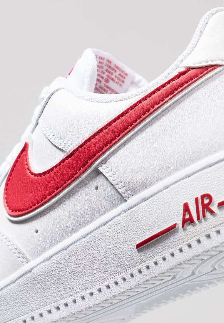 Nike 3WitGym White Force Air 1 Red '07 dxsthQrC