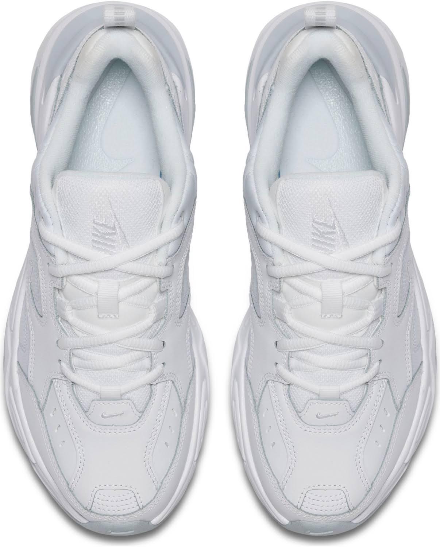 Nike Sportswear M2K Tekno Sneakers basse white/pure platinum, gender.adult.female, Taglia: 42.5, Bianco - Pelle e tessuto