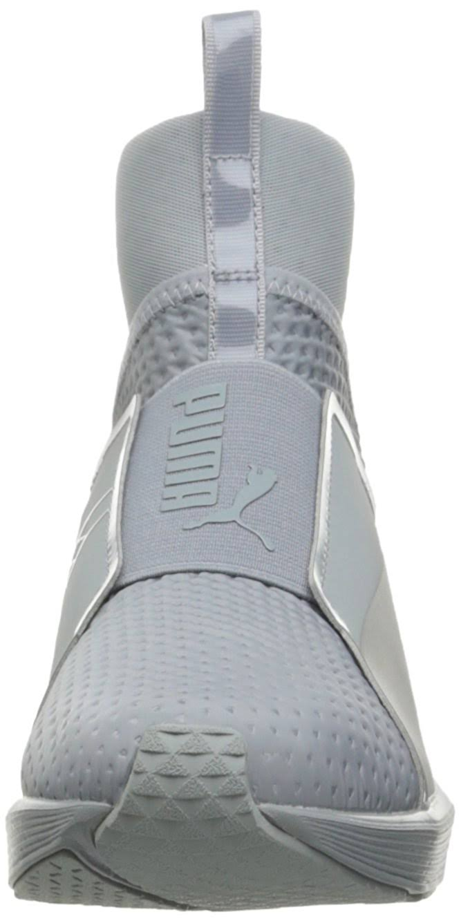 Cross Fierce Quarry Shoe Silver puma Women's Quilted trainer Puma FAcfWBzqwt