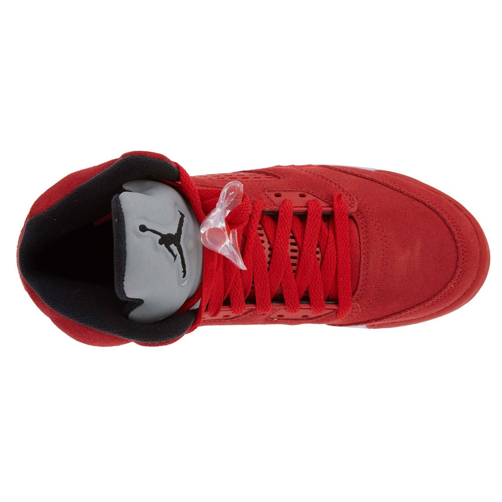 Chłopcy School Retro Shoes Jordan Red Grade 5 Basketball University rTrwa