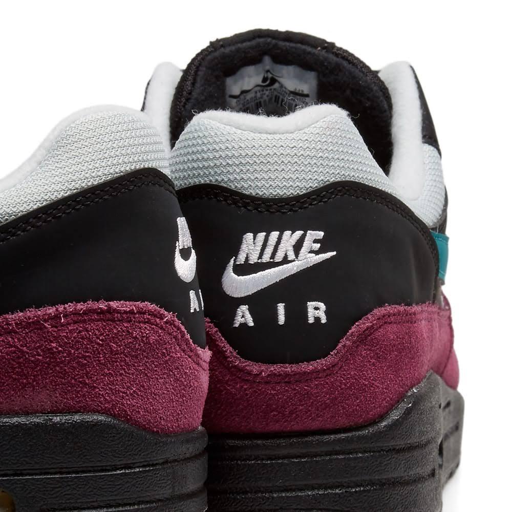 Dames 1 Max Air zwartgroenblauwzilverBordeaux Nike c3TF1JKul
