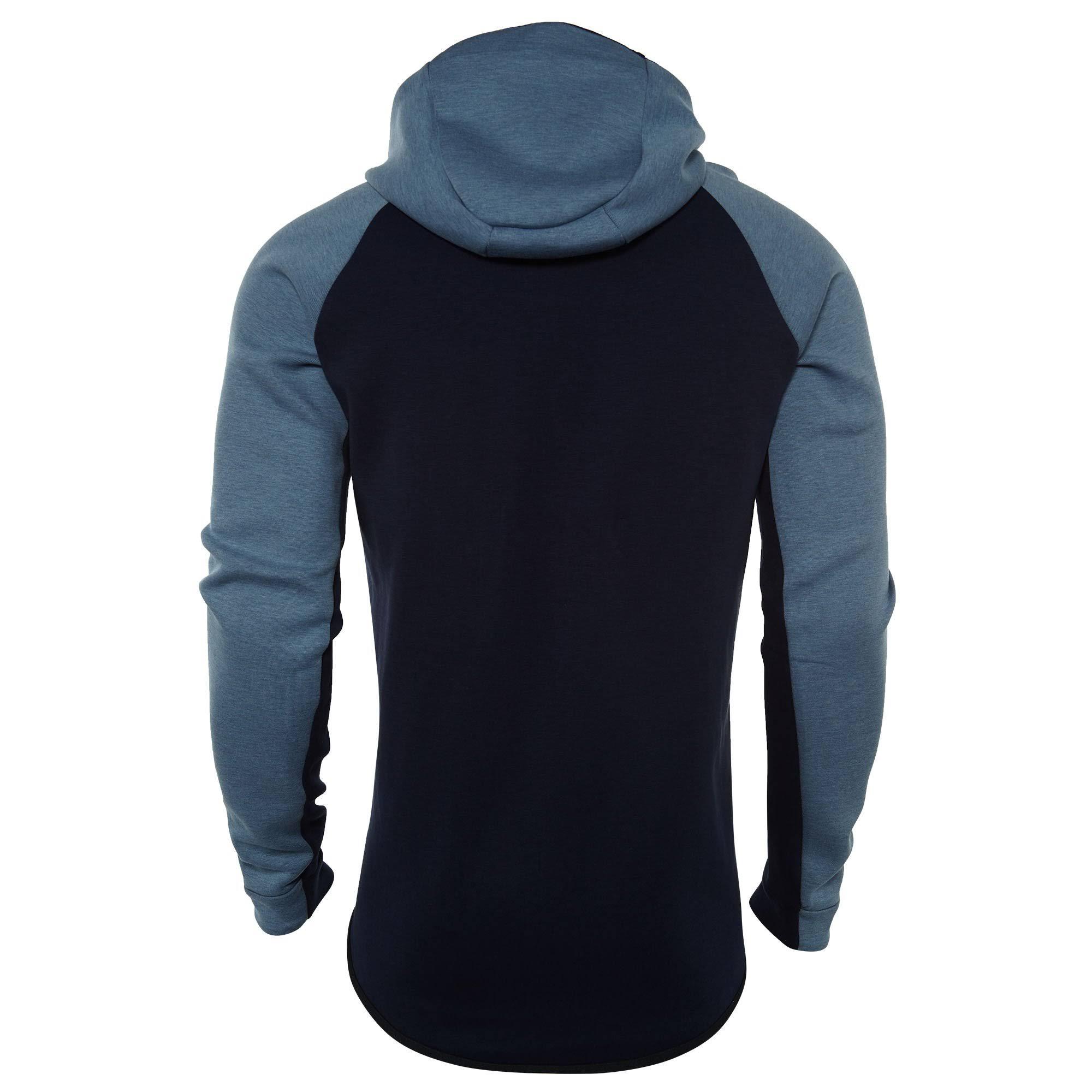 Nike Con Completa Estilo Capucha Windrunner Hombre Sportswear Tech Cremallera Sudadera 885904 Para Fleece Y TdXqTw