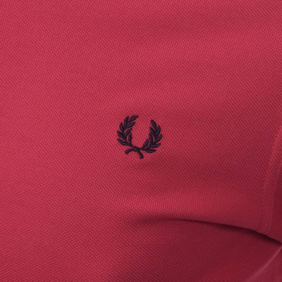 T Zwei Spitzen shirt Perry Mit In Fred Poliertes Pink wRPnT