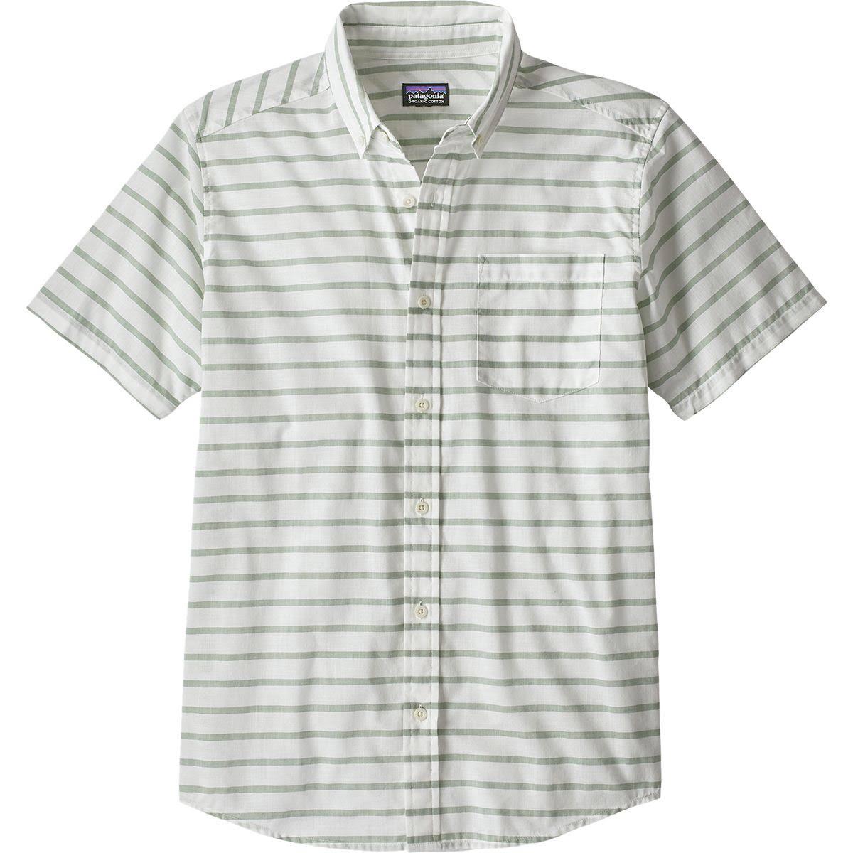 Herren S Bluffside Grün Patagonia Shirt 54121 Leichtes wHqdfS