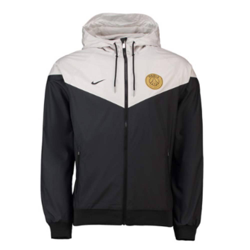 48 Authentic Windrunner Psg Nike Jacket schwarz 2018 Inc 46 Xl 2019 zqx5ZwP