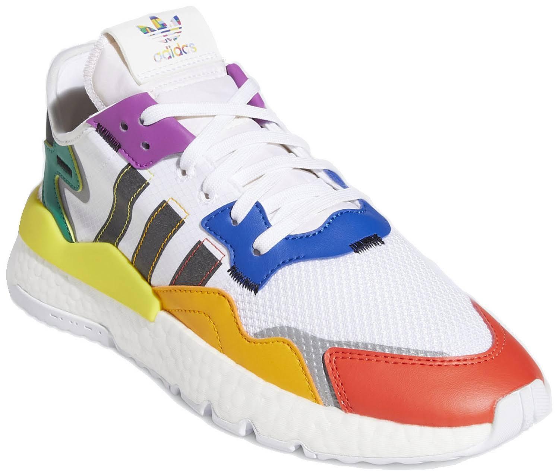Adidas Nite Jogger Pride Shoes - White