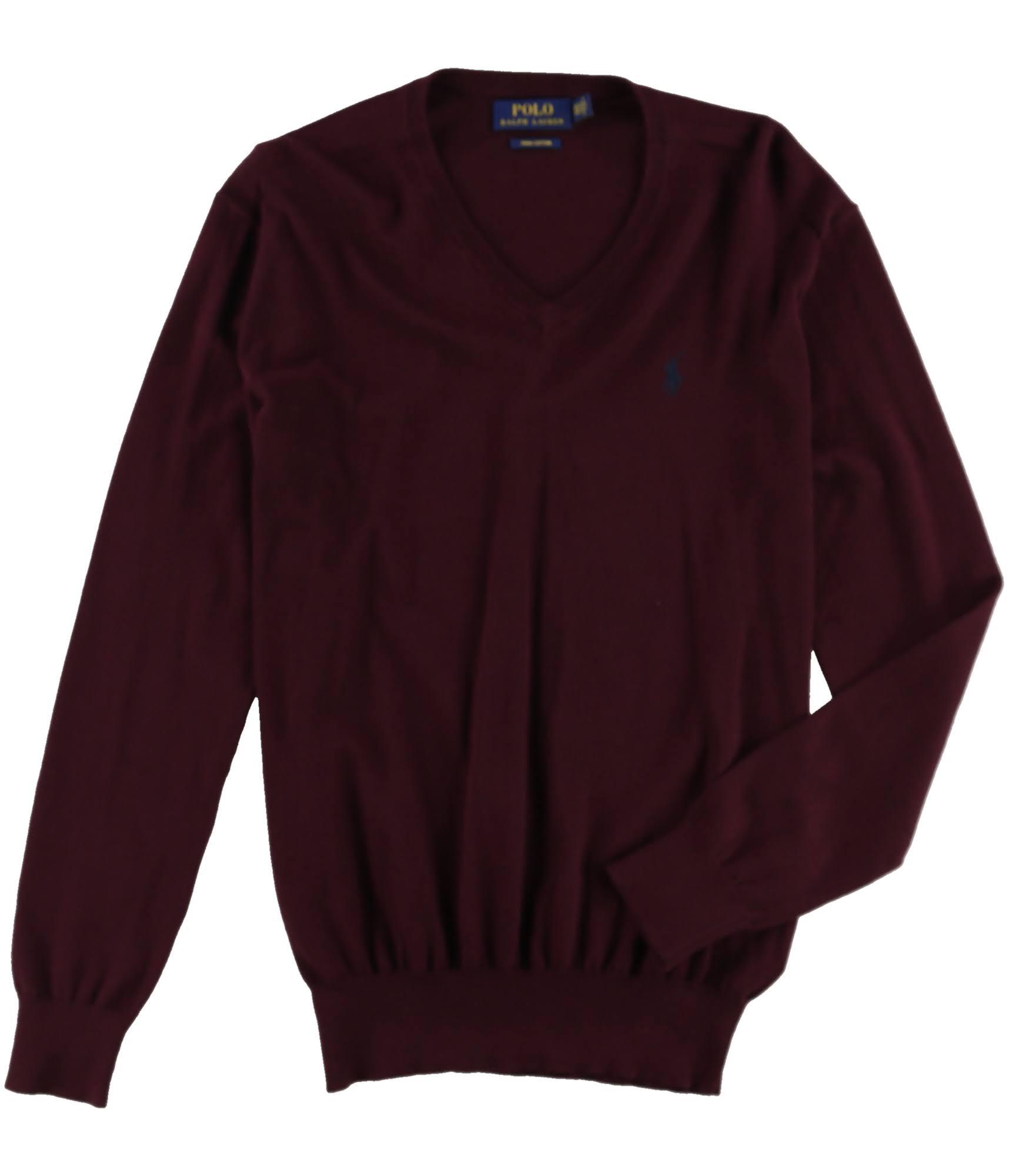 Maglione Knit Italianre Lauren Ralph Pullover Mens Xs Ls 54RjLq3Ac