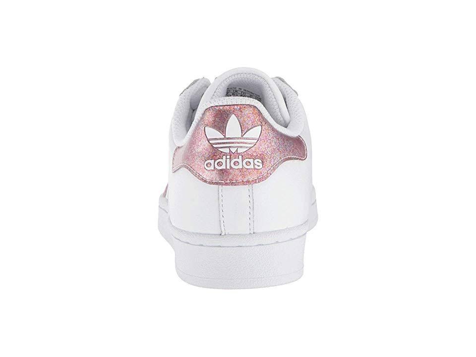 Size 6 White School Originals Shoes 5 Superstar Grade Girls Adidas PqvUx0