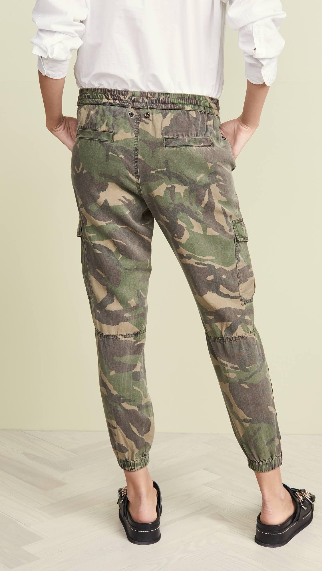 Latérales Rayures Pantalon L Camo amp; Gela Army À Cargo Pam qRYxOXwq