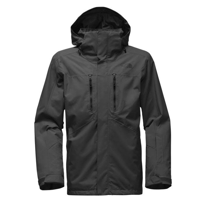 Northface Jacke Clement Asphalt Medium Grey Tri Men rOrCwq
