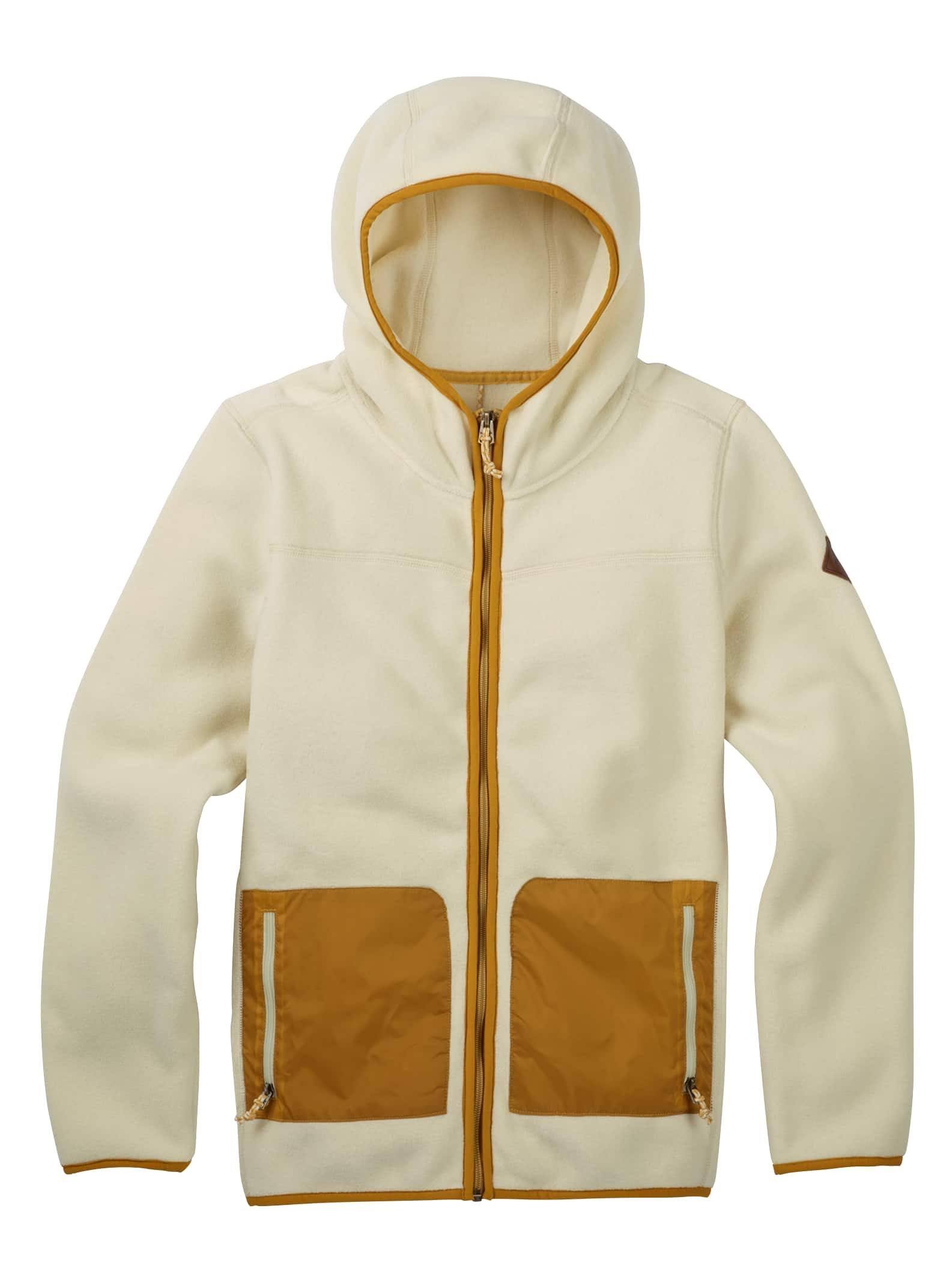 Hueso Para Fleece Cremallera Mujer Burton Con Anouk Completa Blanco vwpqTq8x7