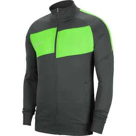 Nike Academy Pro Knit Jacket (Anthracite/Green Strike) Medium