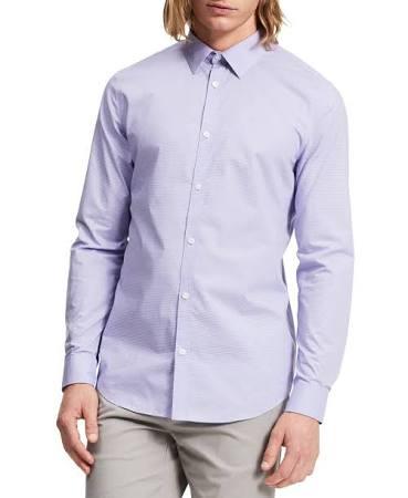 Infinitos Y Madraspurple Camisa Klein S Calvin Botones Hombre Con Para qnFHOAg