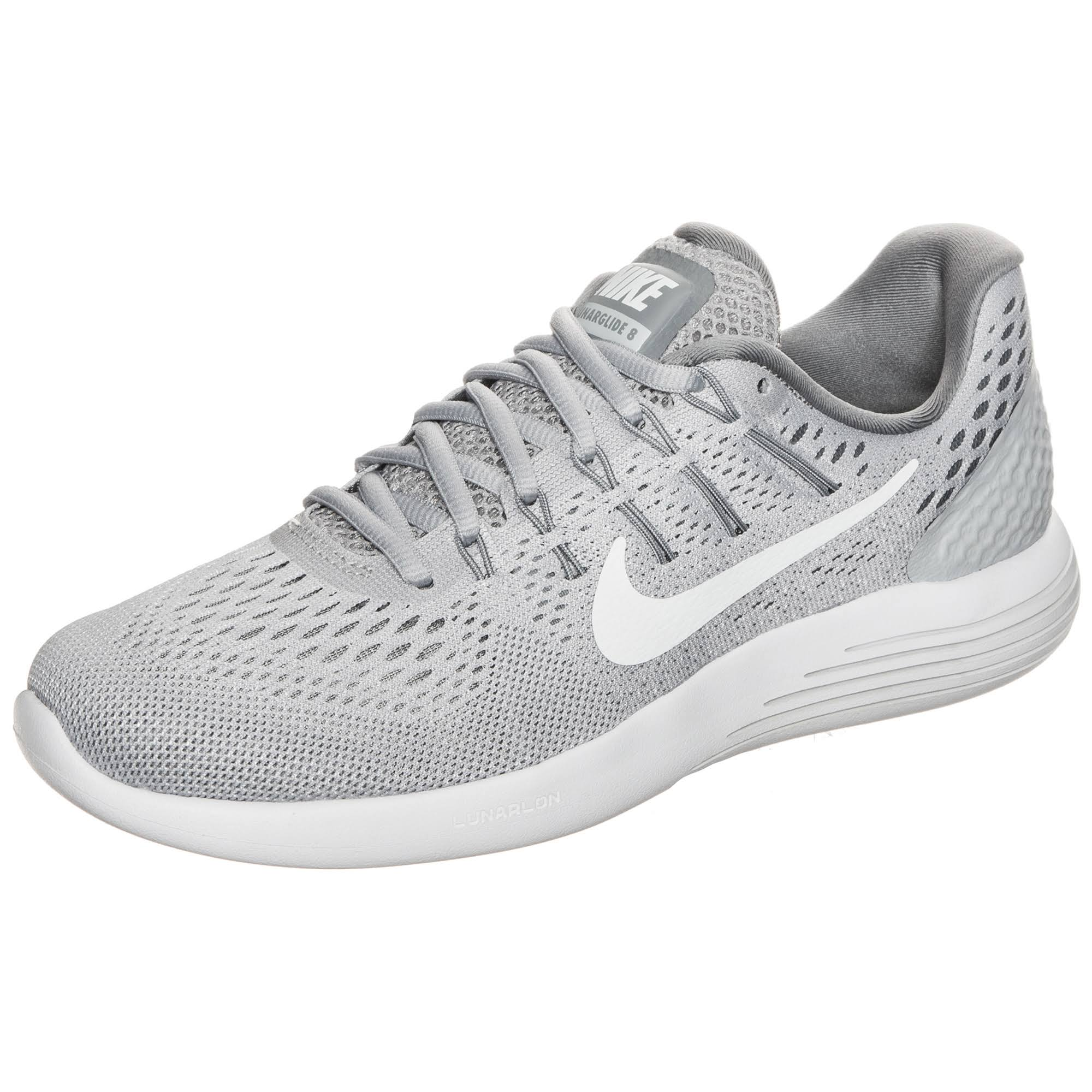 In Silber 5 8 Nike Größe Damen 38 Laufschuhe Lunarglide qwO07