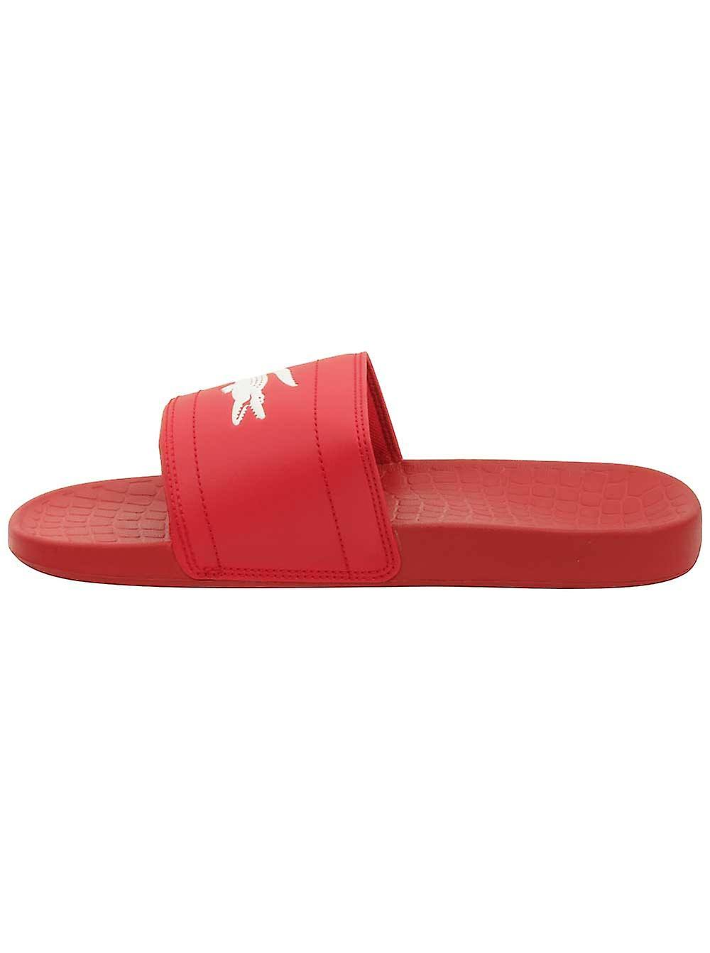 Rot Slide Lacoste Weiß Fraisier 118 Sandal Herren 10 wvwAzXPq